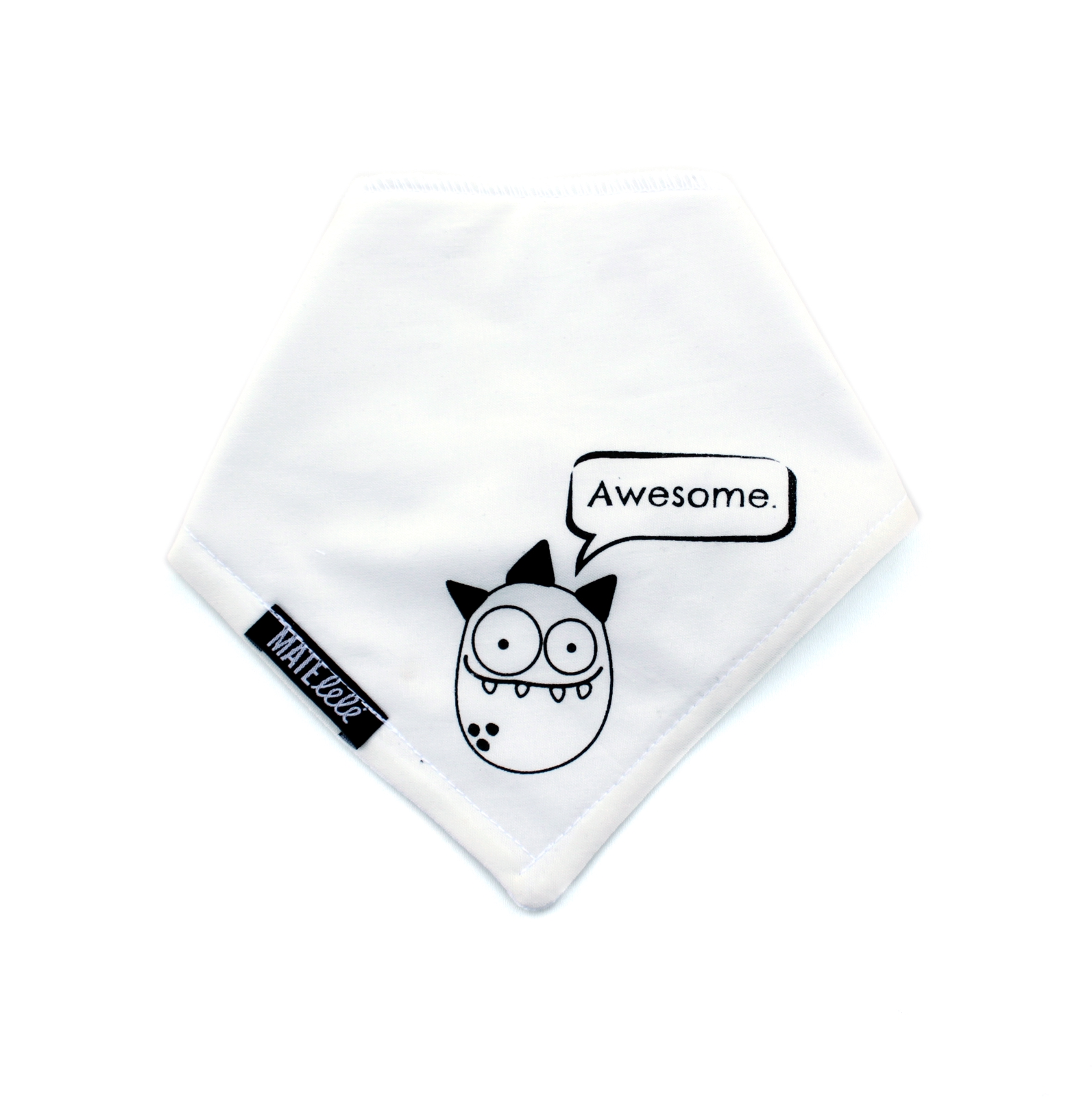Baby bandana Monster free shipping