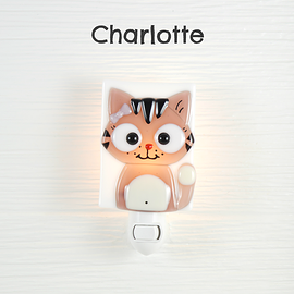 Veilleuse - Chat - Charlotte