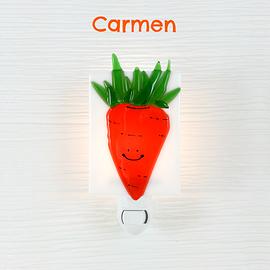 Veilleuse - Carotte - Carmen
