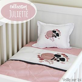 Literie pour bébé - Juliette - 4 morceaux