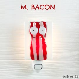 Veilleuse - Monsieur Bacon