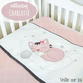 Literie pour bébé - Charlotte - 5 morceaux