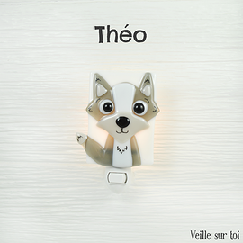 Veilleuse - Loup - Theo