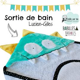 Sortie de bain - Lucien Gilles