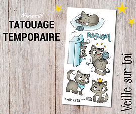 Ensemble Tatouages Ferguson - 24 tatouages (3,50$ en magasin)