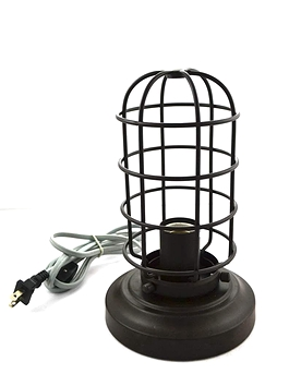 Lampe Industrielle Grillage