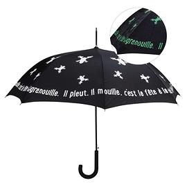 Parapluie à grenouille qui devient vert