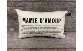 Coussin - Mamie d'amour