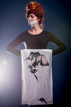Infinity scarf «UNFORGIVEN» exclusive collection OS X META