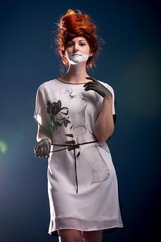 Dress «LE DERNIER SOUFFLE» exclusive collection OS X META