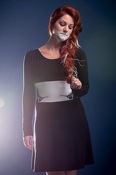 Dress «LE CRI SOURD» exclusive collection OS X META