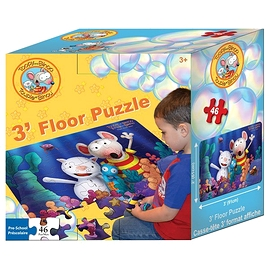 "Toopy and Binoo ""Floor puzzle"" (46 pieces)"
