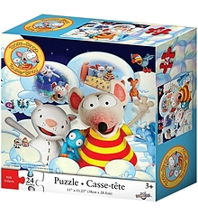 Toopy and Binoo Puzzle (24 pieces)