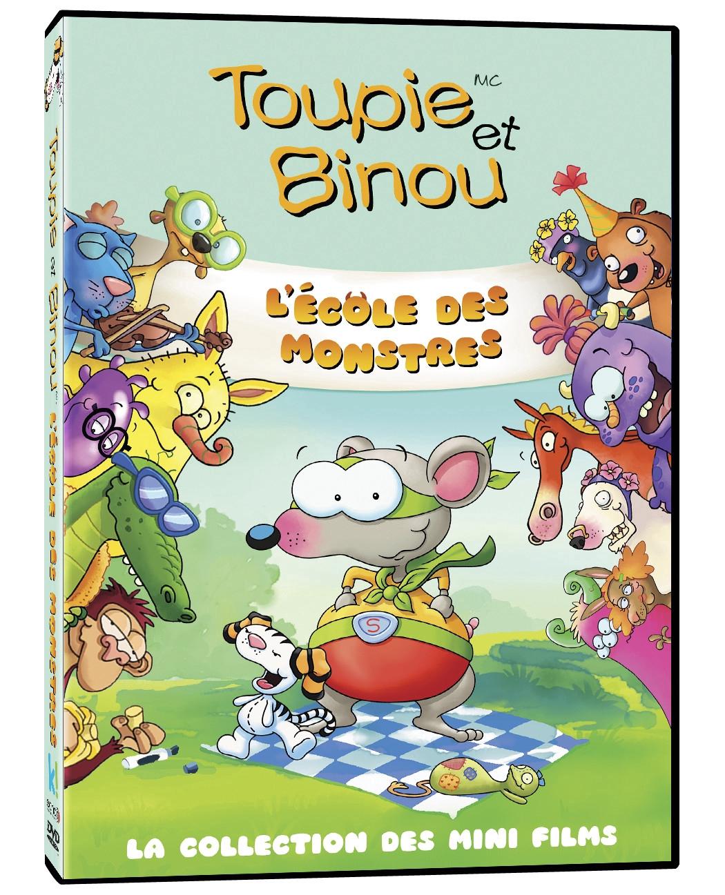 toopy and binoo monster dvd
