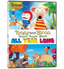 Toopy and Binoo Vroom Vroom Zoom - All year long