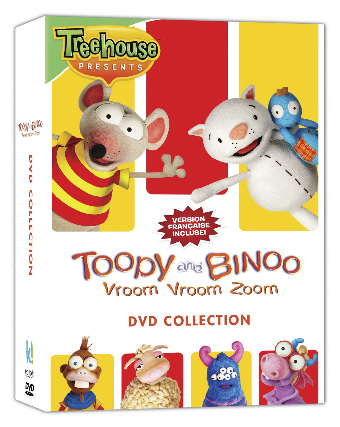 toopy and binoo vroom vroom zoom dvd collection of the best episodes