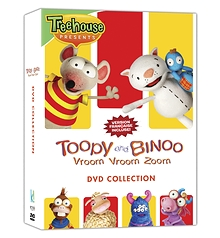 Toopy and Binoo  - Vroom Vroom Zoom DVD collection