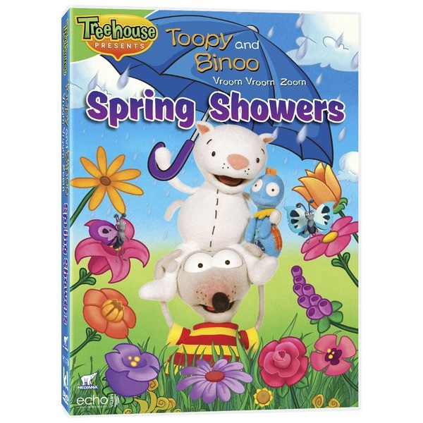 Toopy and Binoo Vroom Vroom Zoom - Spring showers