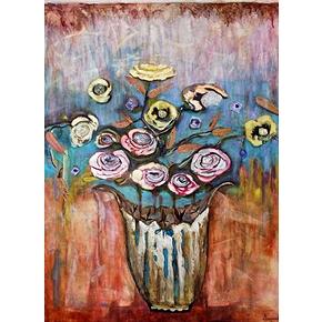 English roses 48x36