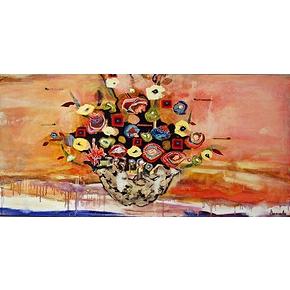 Explosion florale 24x48