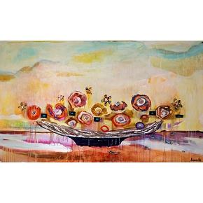 La petite barque 36x60