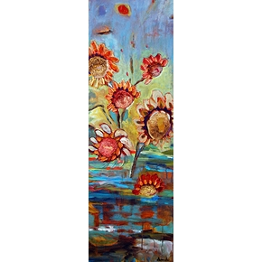 Sunflowers 48x16