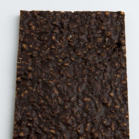 Pavé de riz et chocolat