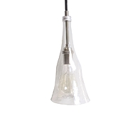 Série Craquelé/ Lampe suspendue