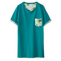 T-shirt motif palmier