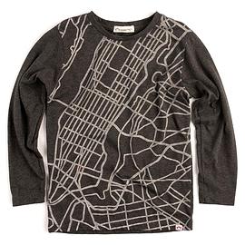APPAMAN- T-shirt manches longues gris argenté