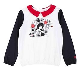 DEUX PAR DEUX- T-shirt en jersey rétro