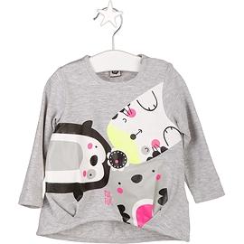 TUC TUC - Tshirt manches longues 'black&white'