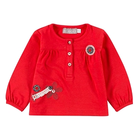 BOBOLI- T-shirt manches longues rouge