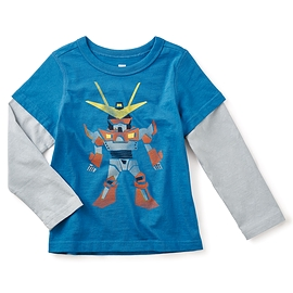 TEA COLLECTION- T-shirt manches longues 'Robotto'