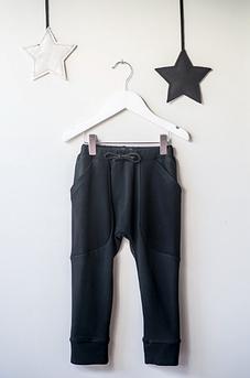 COKLUCH MINI - Pantalon '' Mouflon'' noir.