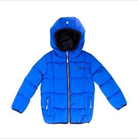 NANO- Manteau mi-saison matelassé bleu et noir