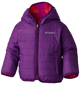 COLUMBIA- Manteau Double Trouble mauve