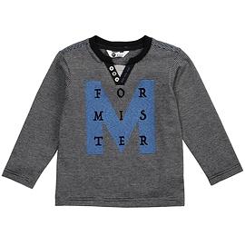 """PETIT LEM - T-Shirt manches longues rayé """"Mister"""""""