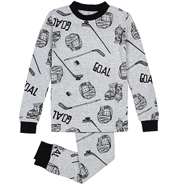 PETIT LEM -Pyjama gris hockey