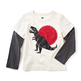 TEA COLLECTION- T-shirt 'T-Rex'