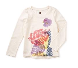 TEA COLLECTION - T-shirt graphique à manches courtes 'Hatsuki'