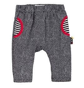 DEUX PAR DEUX- Pantalon sarouel à pois