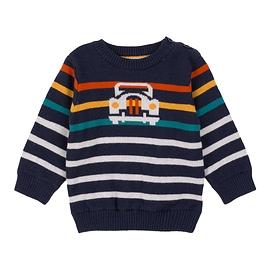 DEUX PAR DEUX - Pull tricot 'Off road'