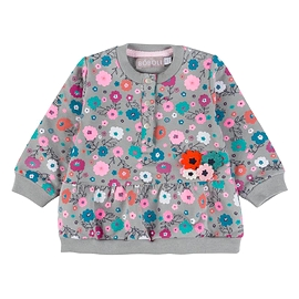 BOBOLI- Robe manches longues avec fleurs