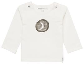 NOPPIES- T-shirt Arlington beige manches longues