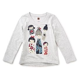 TEA COLLECTION- T-shirt 'Kokeshi'