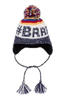 DEUX PAR DEUX -Tuque d'hiver en tricot 'Expédition BRRRR!'