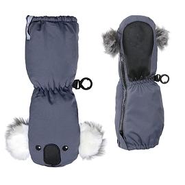 KOMBI-Mitaines The Sherpa Animal à longue fermeture éclair pour bébés- KOALAS
