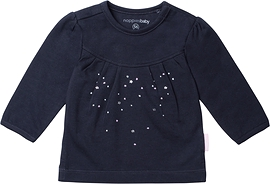 NOPPIES- T-shirt manches longues 'Midnight Blue'