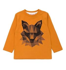 DEUX PAR DEUX- T-shirt manches longues avec renard